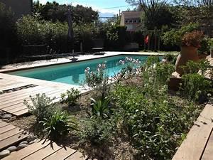 Photo D Amenagement Piscine : cr ation d 39 un jardin et am nagement autour d 39 une piscine ~ Premium-room.com Idées de Décoration