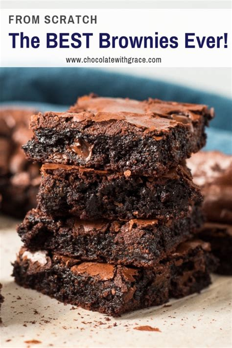 Best Brownie Recipe In The World The Best Brownie Recipe In The World From Scratch