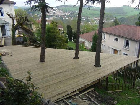 terrasse aerienne en pin traitee autoclave classe 4 atout bois