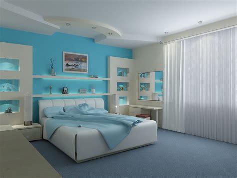 Modern Blue Bedroom Ideas