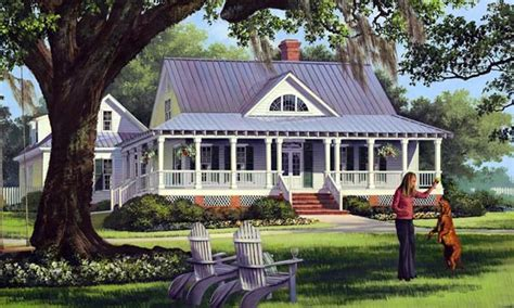 Old Country Farmhouse Low Country Farmhouse House Plans