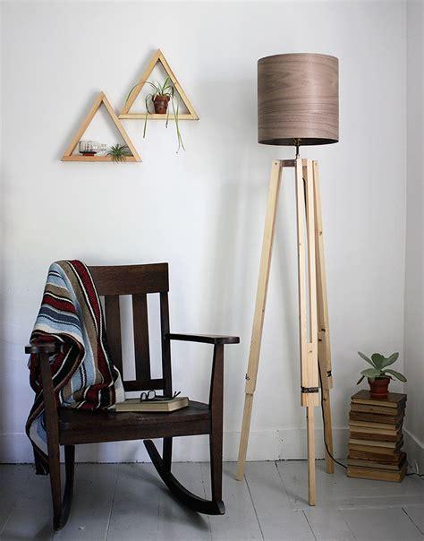 diy tripod floor lamp  merrythought