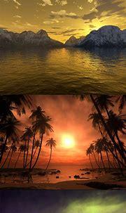 3D Sunset   Sunset, Celestial, Celestial bodies