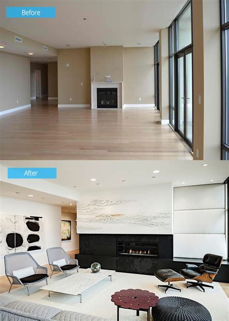 Living Room Makeovers Before And After Pictures by 15 Impressive Before And After Photos Of Living Room