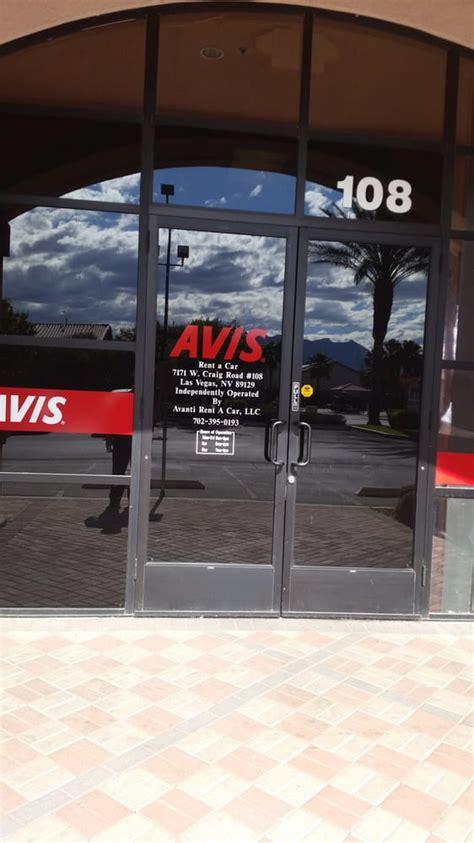Rent A Las Vegas by Avanti Rent A Car Agency Operator For Avis Car Rental