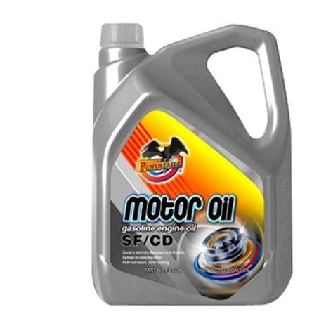 4 Liter Api Sf/cd Motor Oil For Car Or Diesel Lubricant