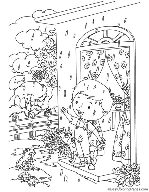rain rain   coloring page   rain rain   coloring page  kids