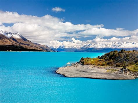 Travel Trip Journey Mount Cook New Zealand