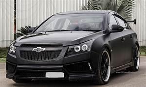 Modified Chevrolet Cruze Matte Black (Holden Cruze, - 2nd ...