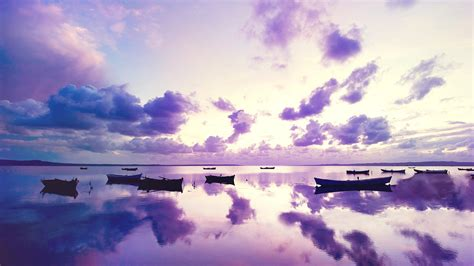 purple sunset  ocean wallpapers hd wallpapers id