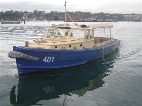 Utility 401 Boat by 40 Army Workboats
