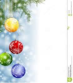 Christmas Ornament Border Clip Art