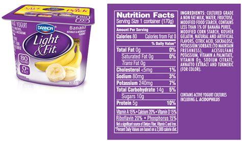 light and fit greek yogurt nutrition dannon light and fit greek nutrition label nutrition ftempo
