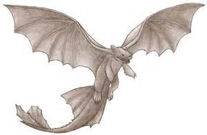 Night Fury Dragon Drawings