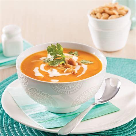 cuisine courge crème à la courge et lait de coco recettes cuisine et nutrition pratico pratique