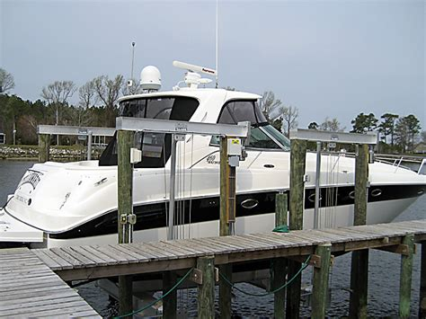 Boat Wraps Kelowna by Tide Tamer 8 Piling Boat Lifts On Lake Norman Nc