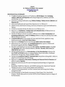 Current Resume Examples Ranadheer Tableau Resume Oracle Database Server