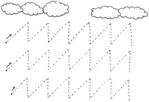 diagonal prewriting activities  worksheets crafts