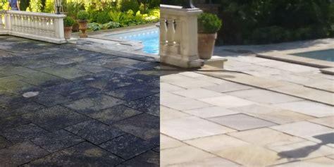 Algen Und Moos Entfernen Auf Terrasse Und Wegen by Terrassenreinigung Finalit Stonecare
