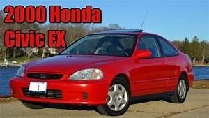 2000 Honda Civic Ex Coupe Milano Red Highlights   No