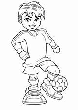 Coloring Boy Soccer Pages Boys Jersey Complete Printable Christmas Colornimbus Sports Digi Stamps Jerseys Playing Logos Popular Detailed sketch template