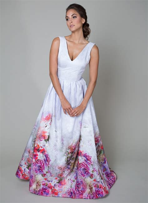 Watercolor Wedding Dresses Wedding Gowns Romantic Floral