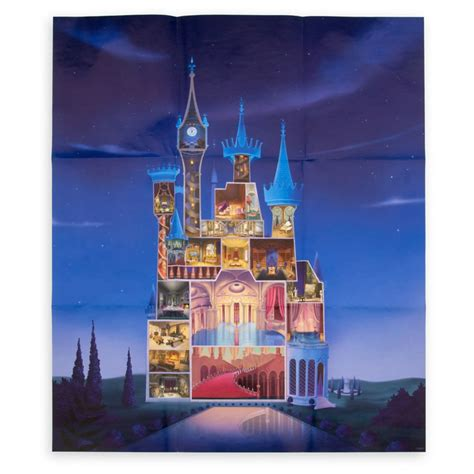 cinderella castle journal disney castle collection