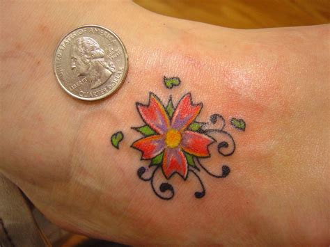 Cool Small Flower Tattoos On Tattoo Ideas With Small