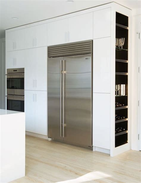 modern kitchen pantry cabinet modern kitchen features a wall of pantry cabinets 7729