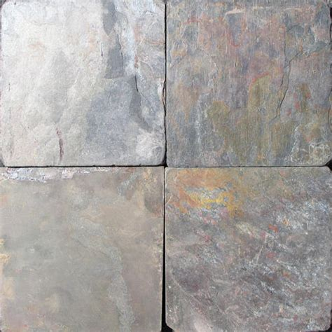 tumbled slate tile tumbled stone slate floor or wall tile 6 quot x 6 quot at menards 174