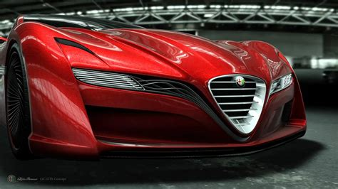 Ugur Sahin Design Alfa Romeo 12c Gts Concept Animation