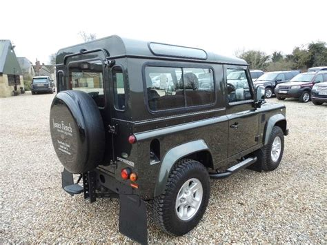 land rover defender tdi used 2009 land rover defender 90 2 4 tdi xs station wagon