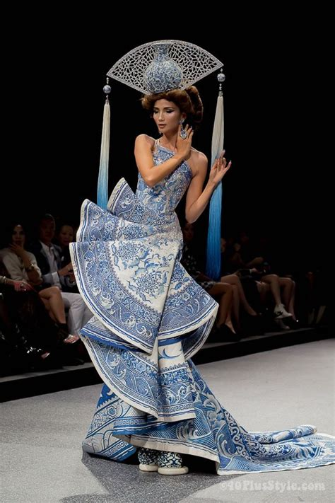 style inspiration guo pei fashion show  completely