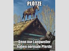 Plötze Denn nur Langweiler haben normale Pferde