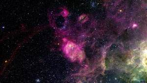 Download Wallpaper Star clusters and nebula (1920 x 1080 ...