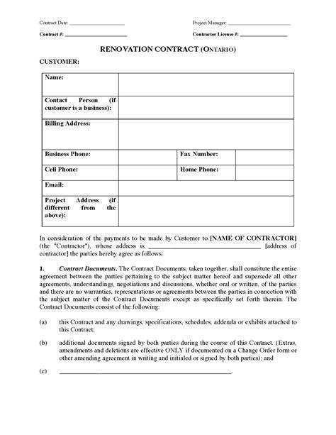 sample letter  intent  house renovation