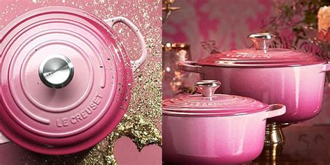 le creusets limited edition cookware colour   food bloggers dream