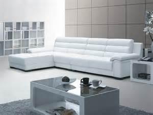 mã bel de sofa sofá chaiselongue moderno de piel blanca imágenes y fotos