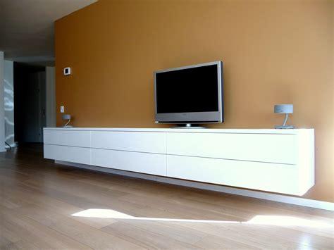 salon bureau zwevend hoogglans design dressoir tv meubel foto uit de
