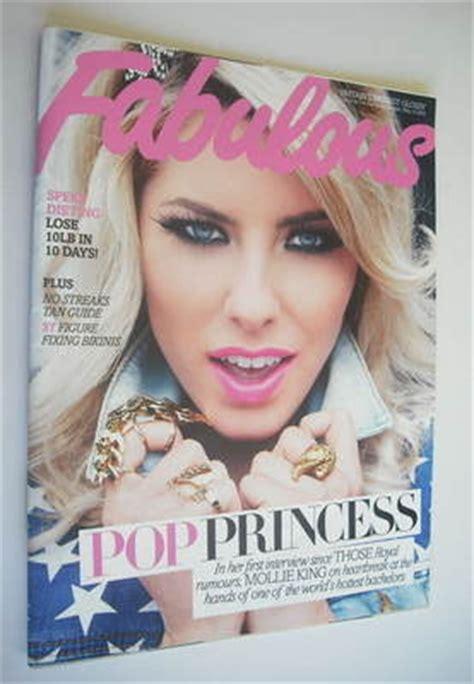 fabulous magazine mollie king cover