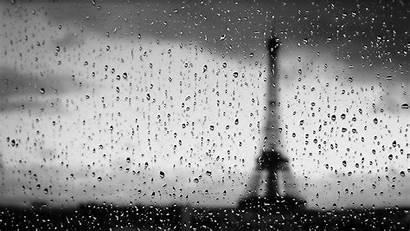 Rainy Paris Rain Desktop Rains Days Computer