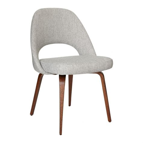saarinen conference chair hallingdal fabric walnut the