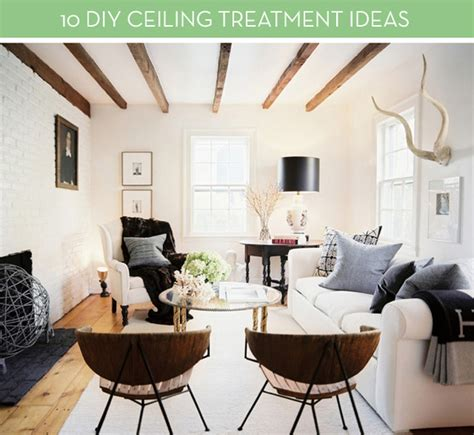 roundup  diy ceiling embellishment projects curbly