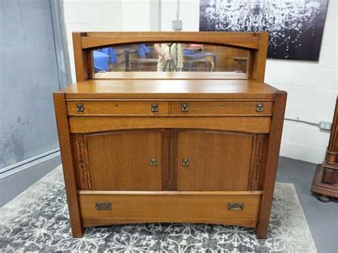 Tiger Oak Sideboard by Mission Solid Tiger Oak Sideboard Buffet