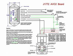 J1772 Active Vehicle Control Board