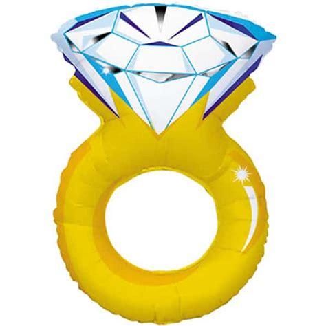 wedding ring supershape foil balloon partyrama co uk