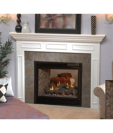 empire fireplace inserts empire tahoe direct vent see through 36 quot fireplace logs