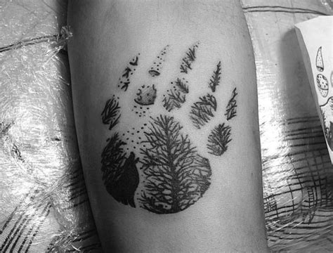33 Pfoten Tattoo Ideen