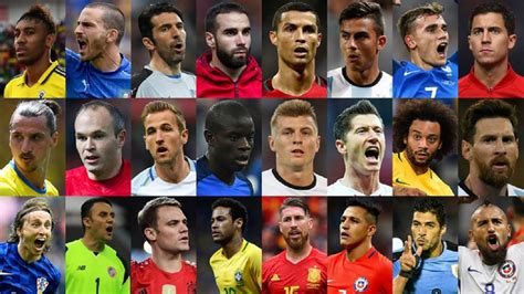 the best fifa football awards 2017 shortlists revealed as