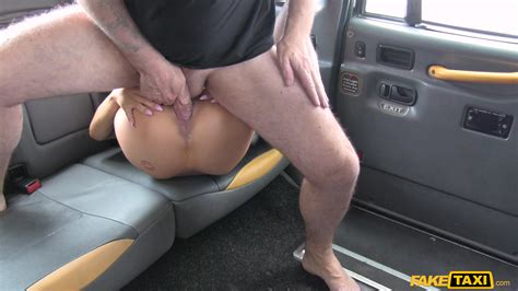 Sexy Brunette In Black Stockings Rough Sex On The Back Seat XBabe Video